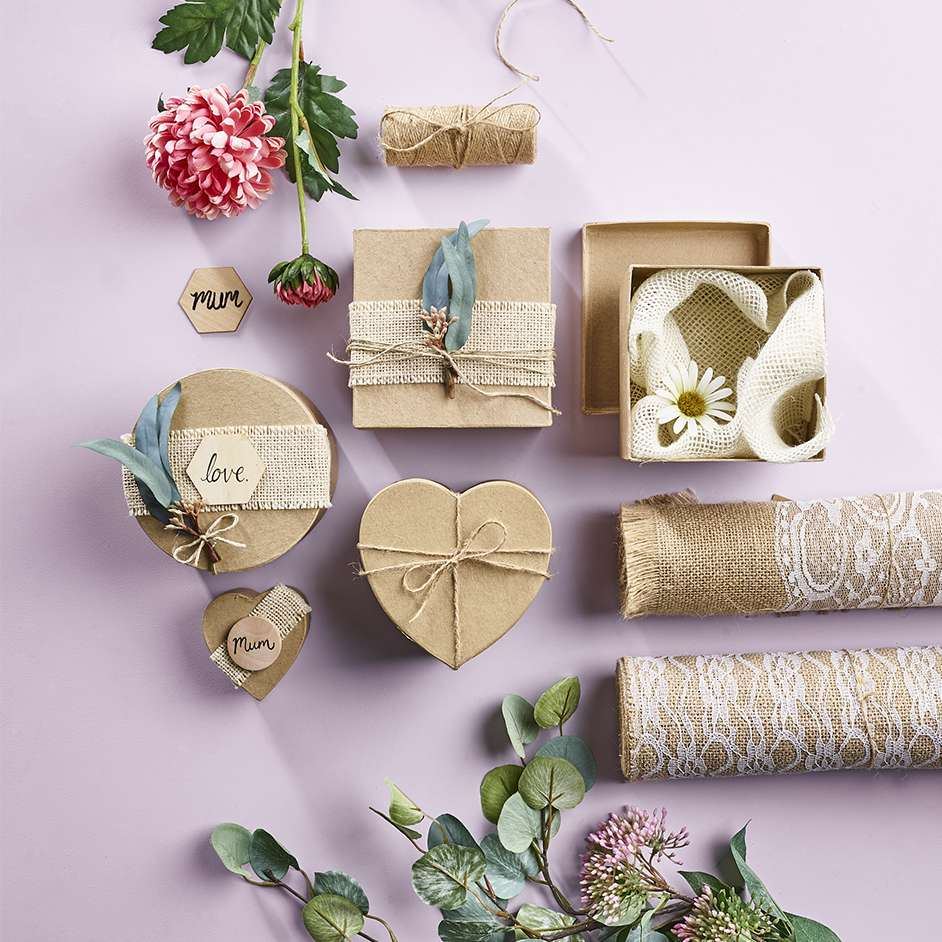 Gift Wrap Gift Boxes Project