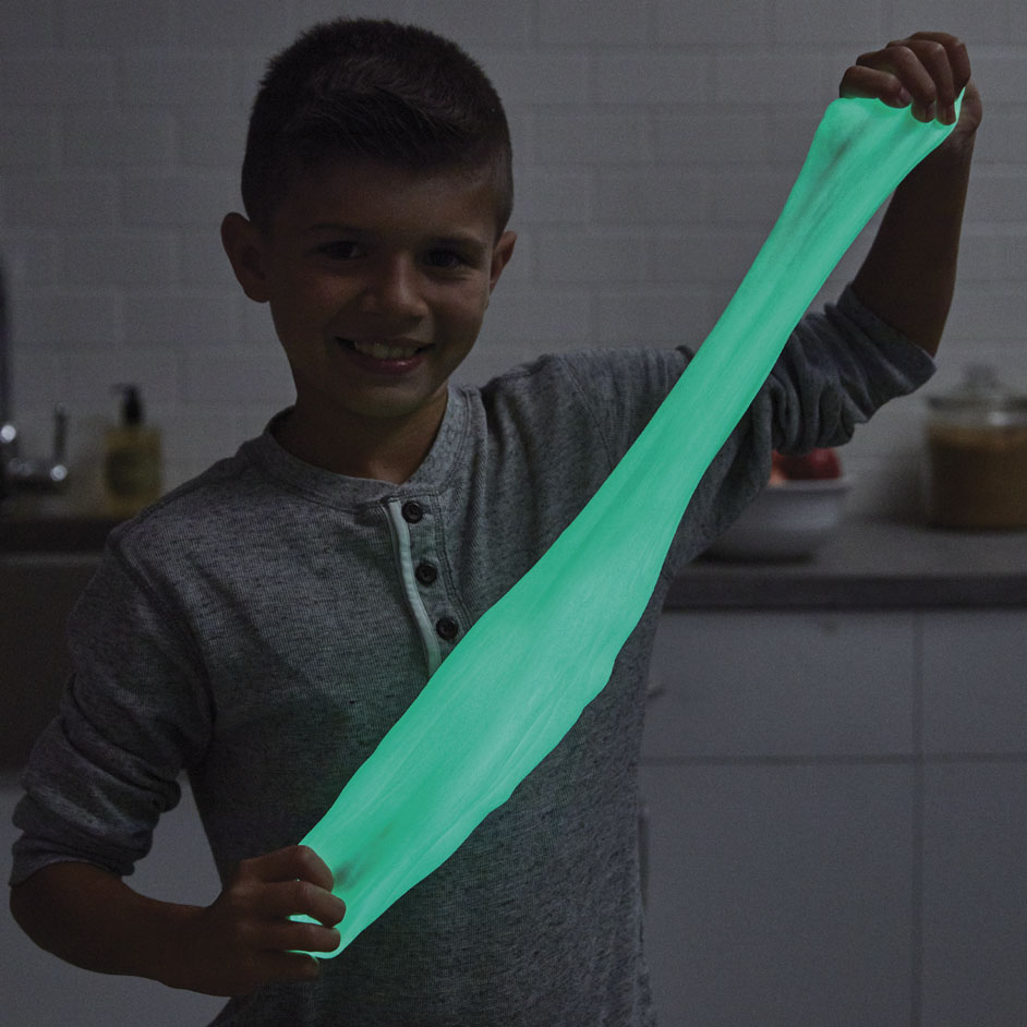 Glow In The Dark Slime Project