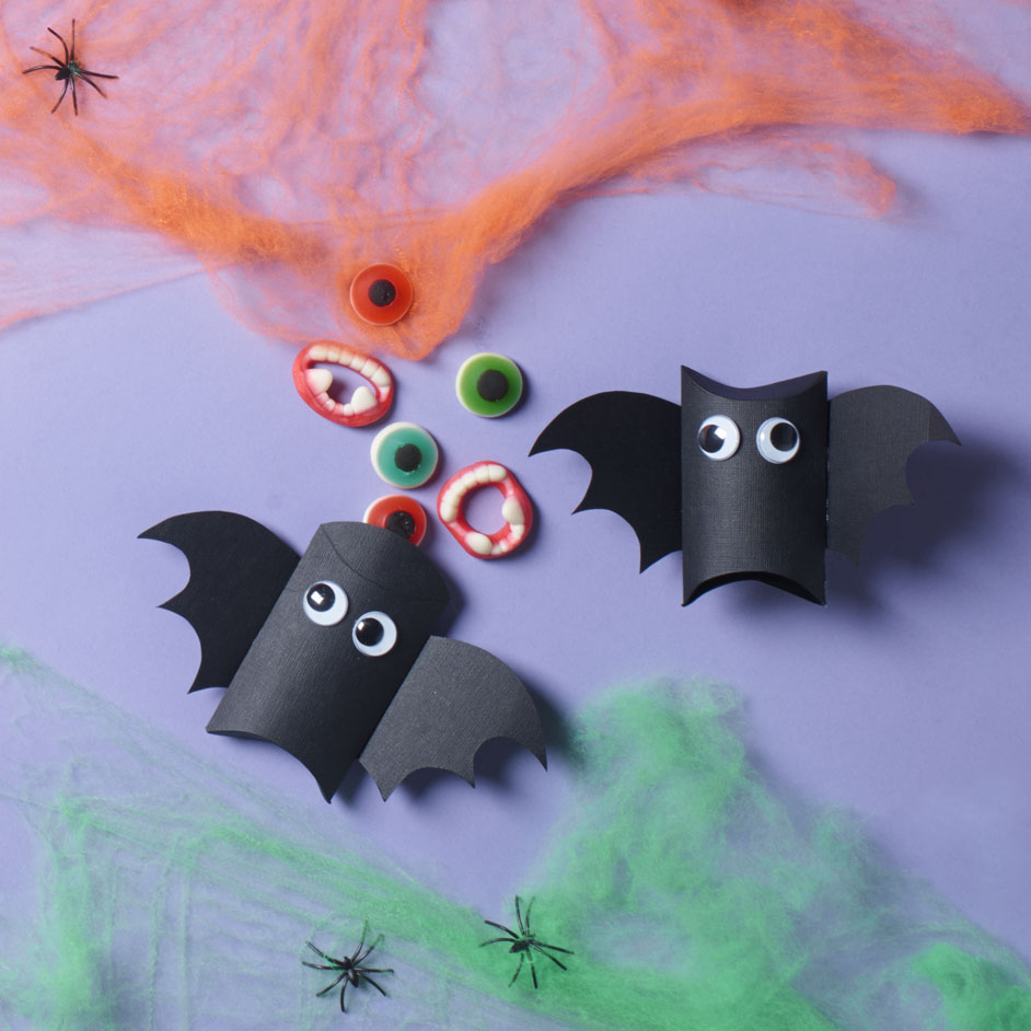 Halloween Bat Boxes Project