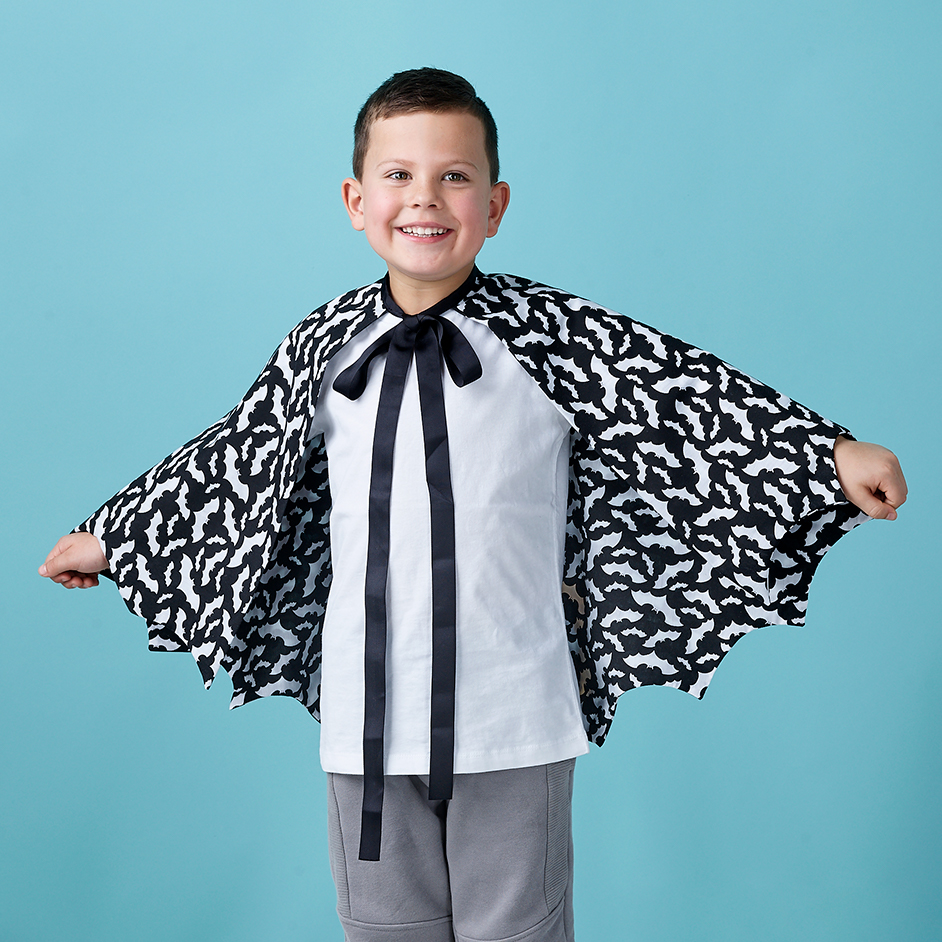 Halloween Bat Cape Project