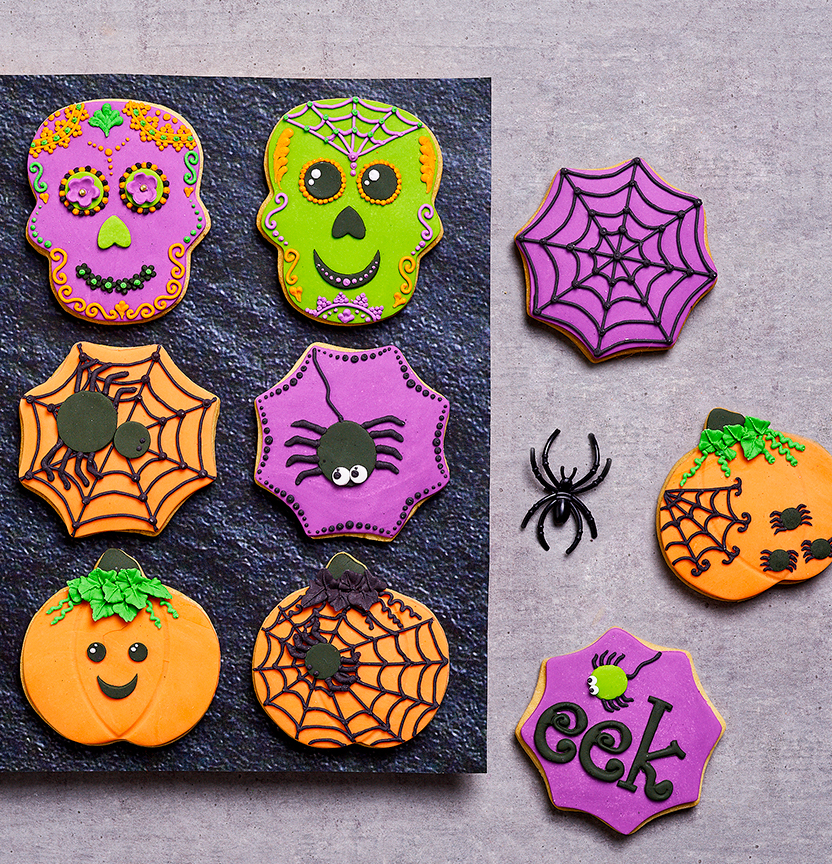 Halloween Cookies Project
