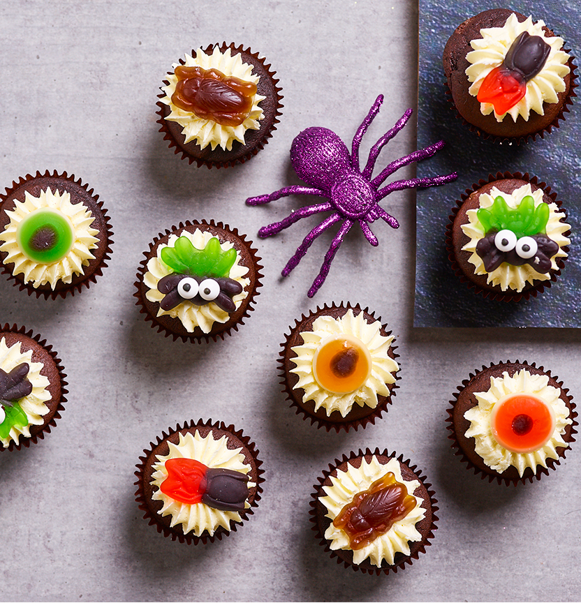 Halloween Cupcakes Project