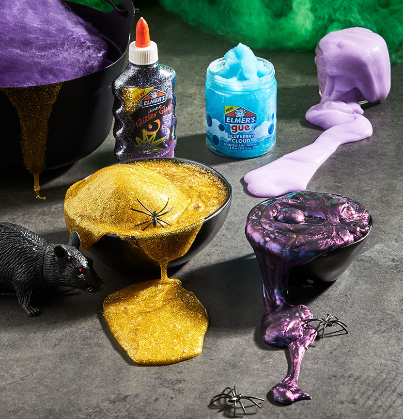 Halloween Slime Project