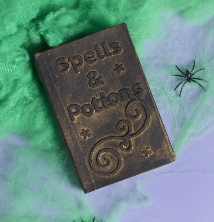 Halloween Spell Book Box Project