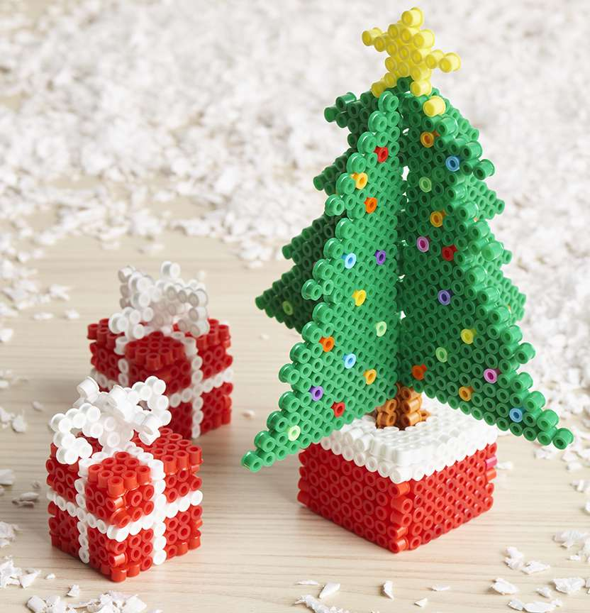 Hama Bead Christmas Tree & Presents Project