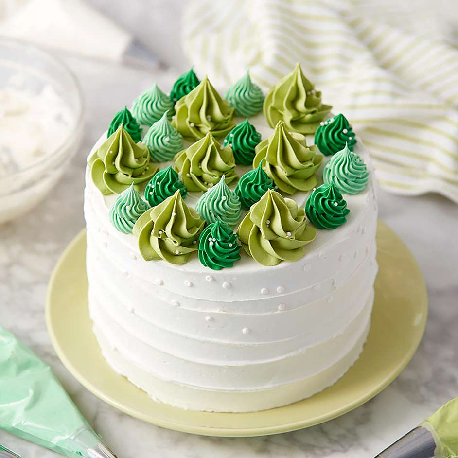 Happy Little Trees Cake Project