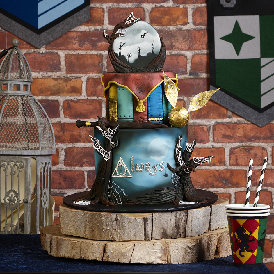 Harry Potter Cake Project