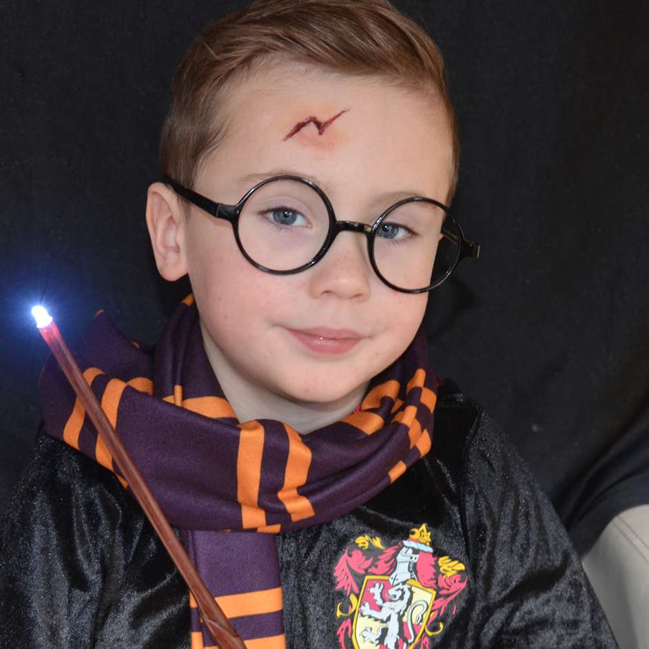 Harry Potter Face Paint Project