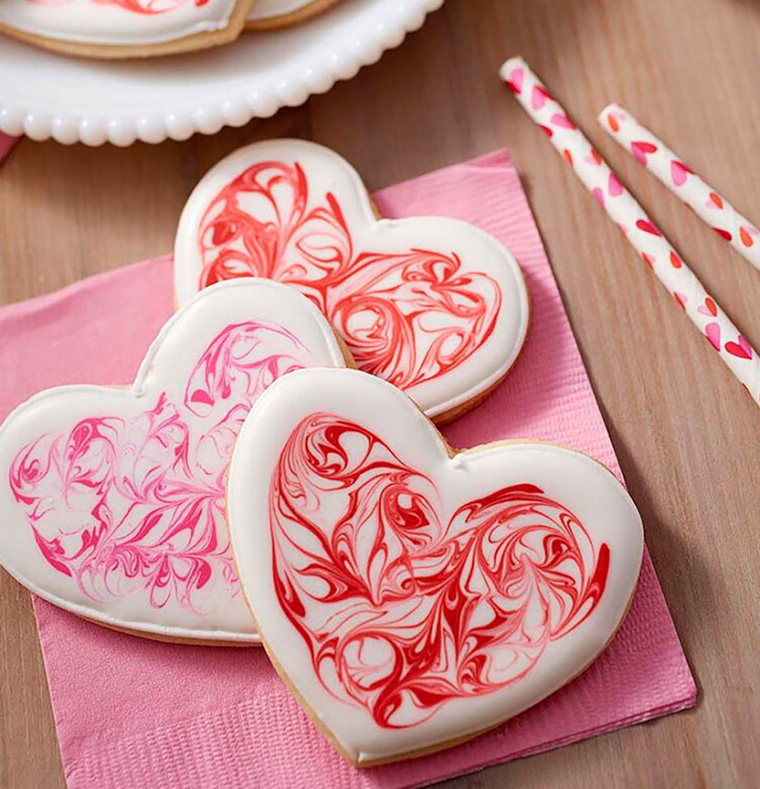 Heart Cut Out Cookies Project