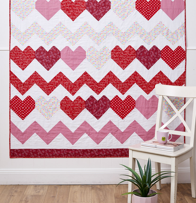 Heart Quilt Project