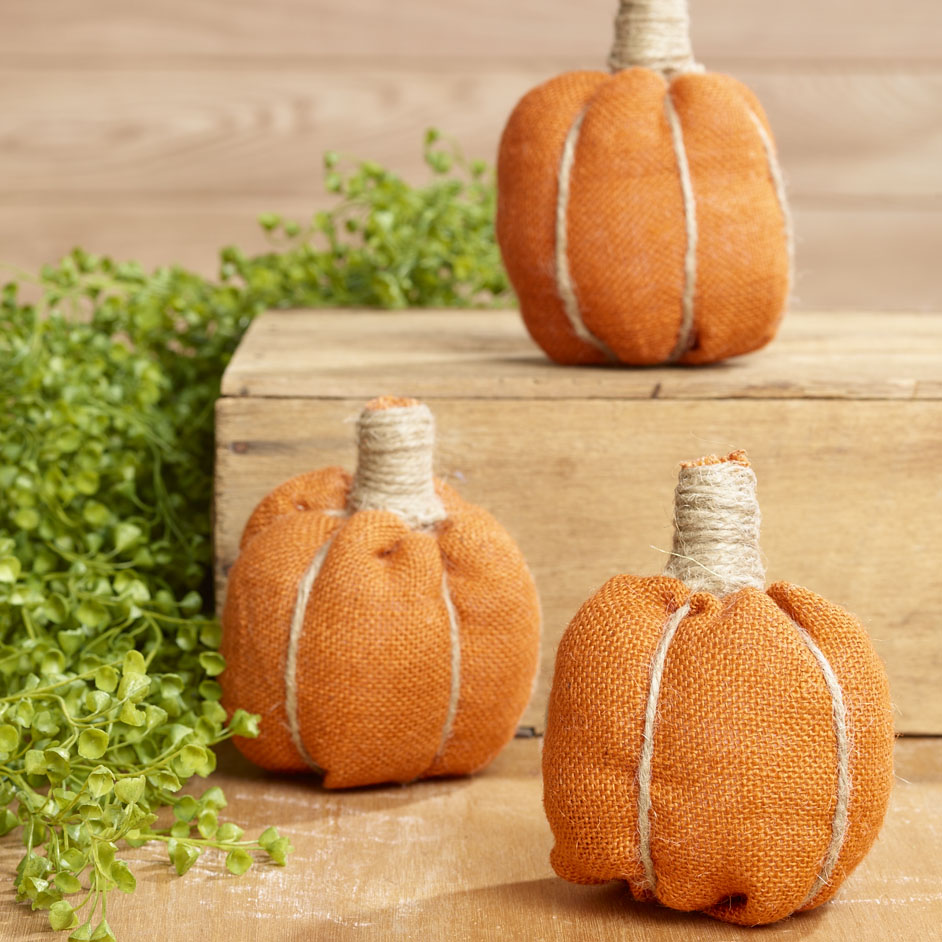 Hessian Pumpkins Project