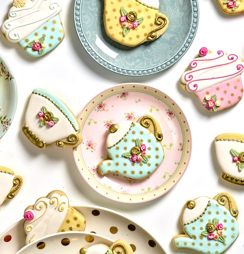 High Tea Sugar Cookies Project