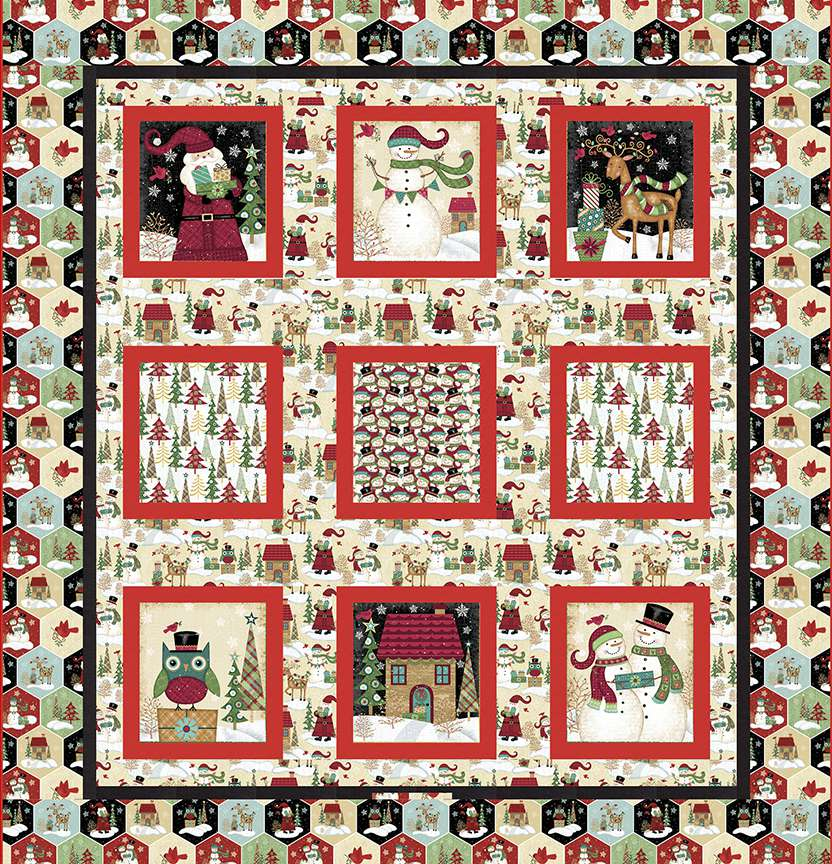 Holly Jolly Christmas Quilt Project