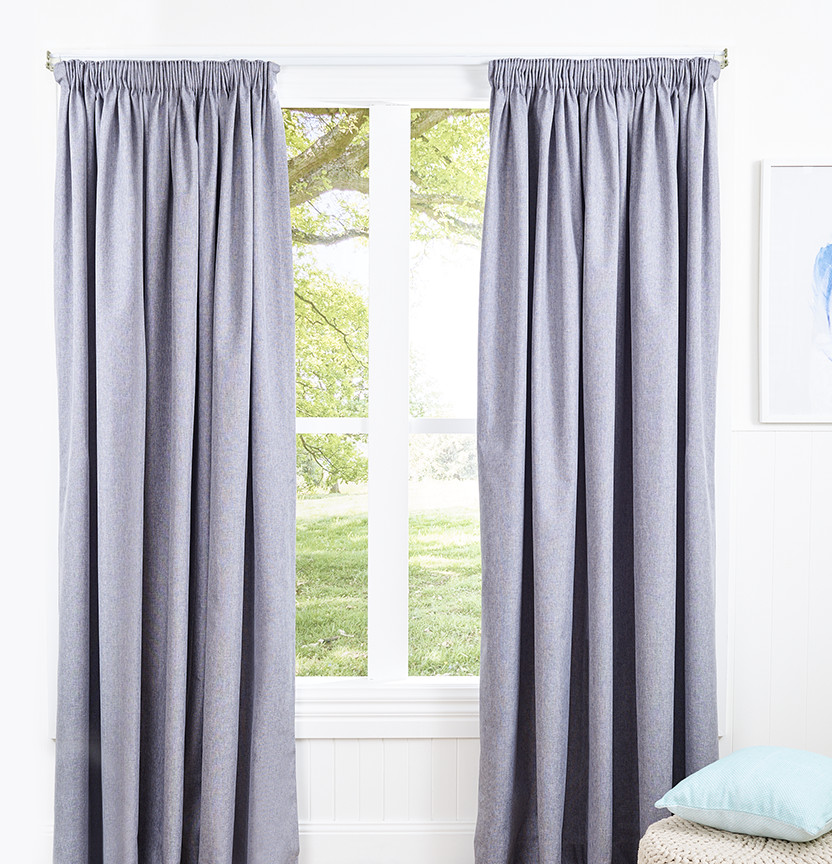 How To Make Pencil Pleat Curtains Project
