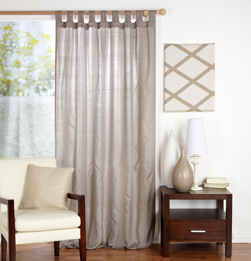 How To Make Tab Top Curtains Project