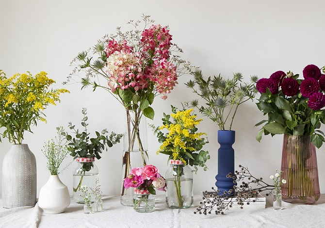 In bloom: 5 ways to decorate with fresh flowers