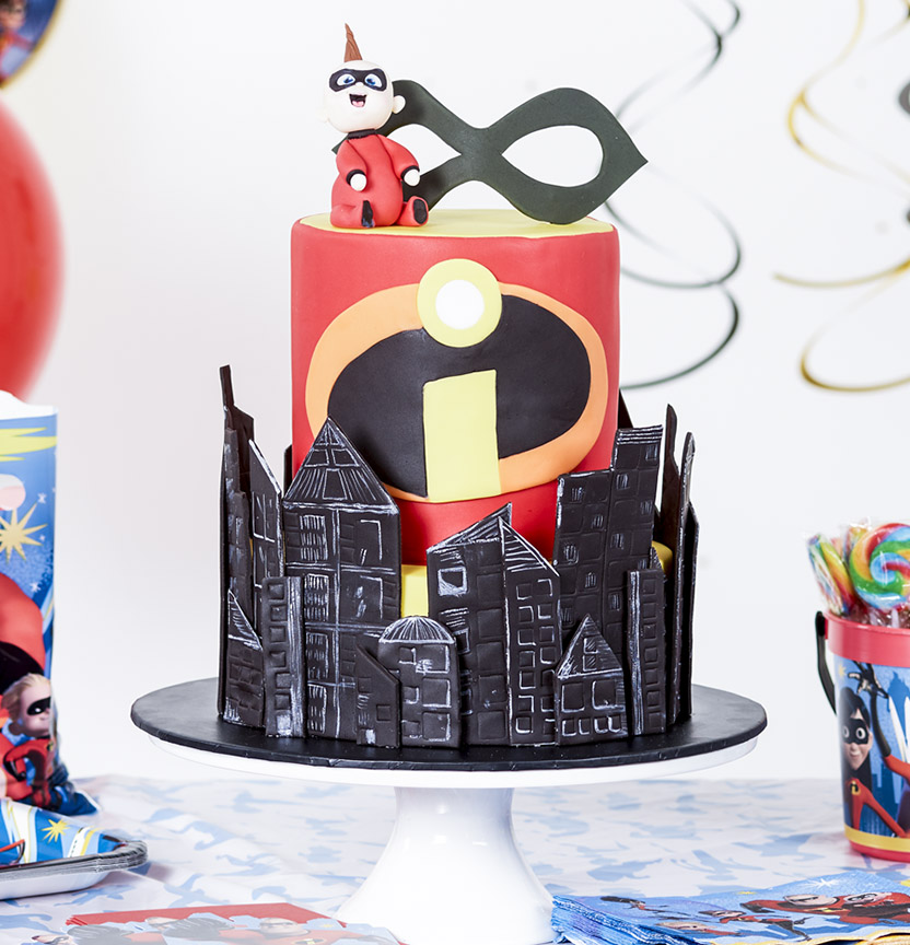 Incredibles Cake Project