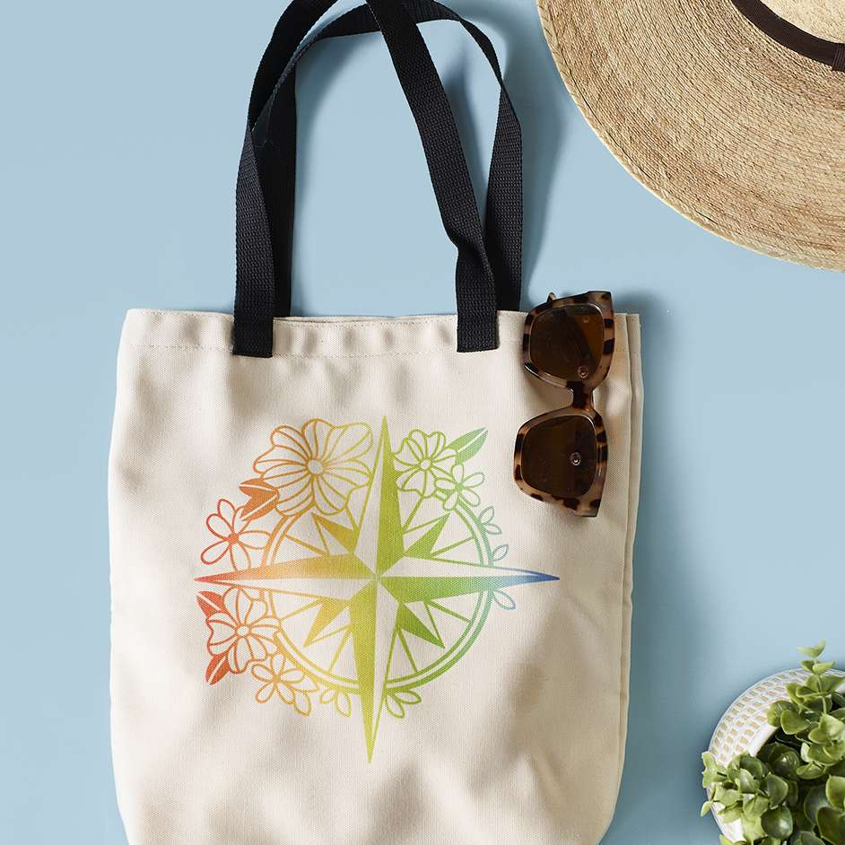 Infusible Ink Compass Tote Project