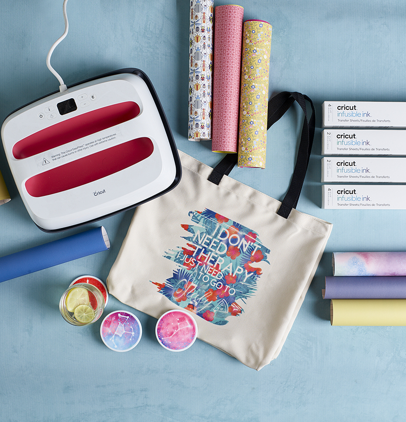 Infusible Ink Cricut Tote Project