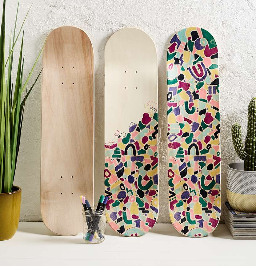 Ironlak Skate Deck Project