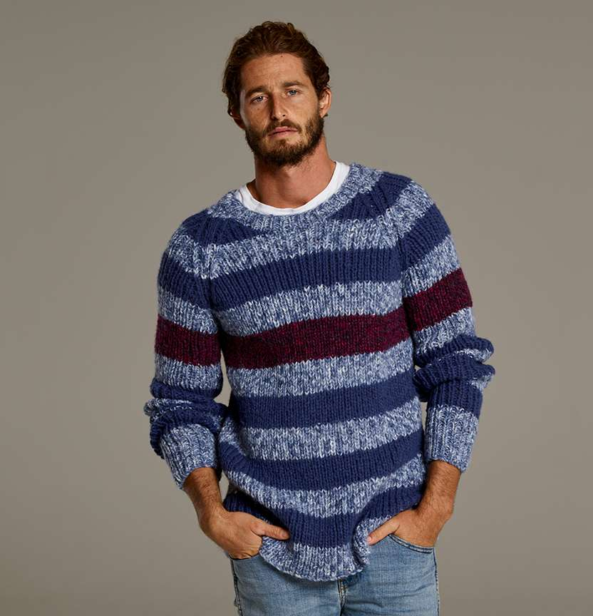 Jansen Ribbed Stripe Jumper Project