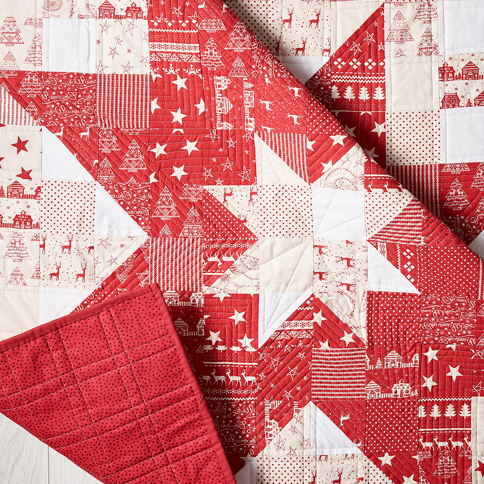 Jelly Flat Xmas Star Quilt Project