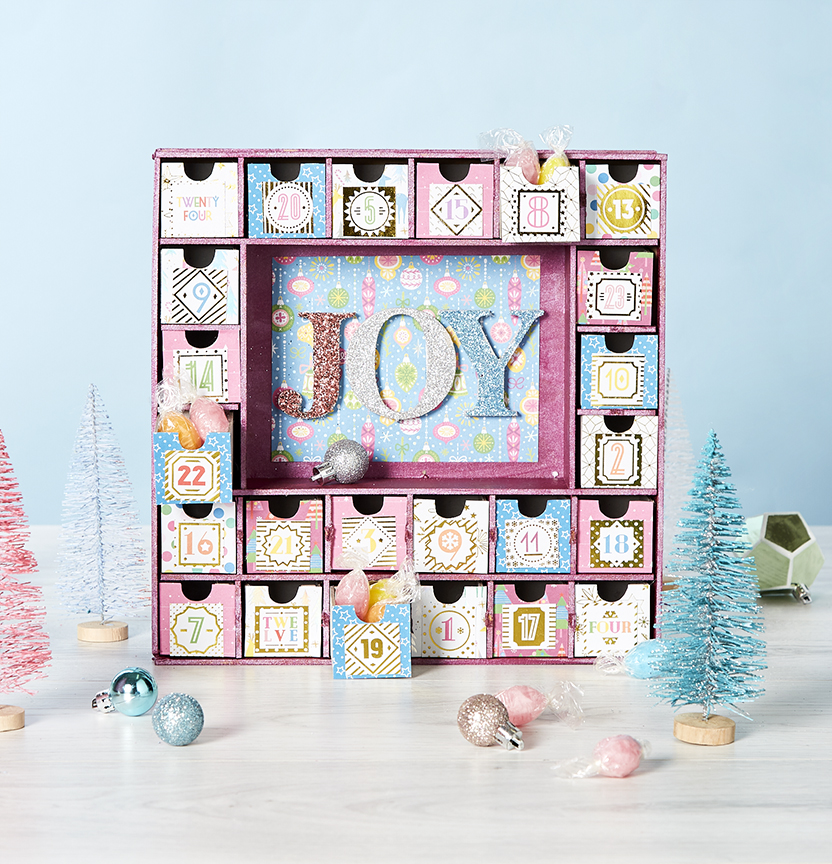 Jolly And Bright Advent Calendar Project