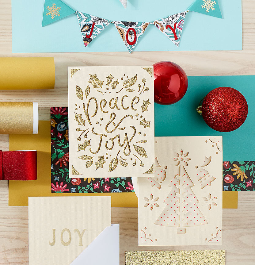 Joy Cards & Mini Bunting Project