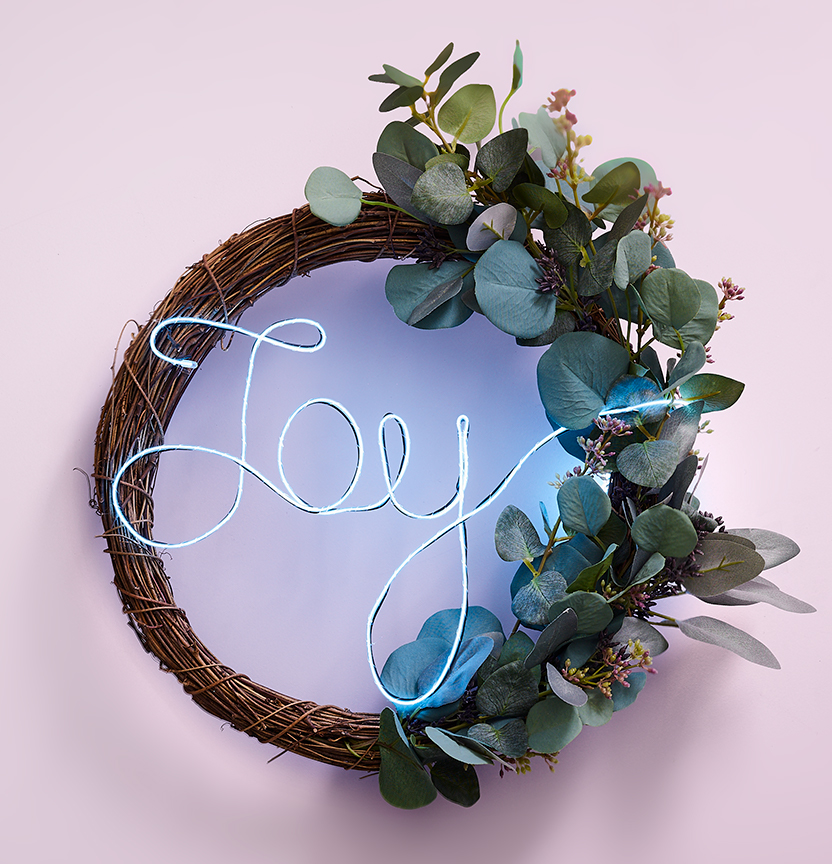 Joy Twig Wreath Project