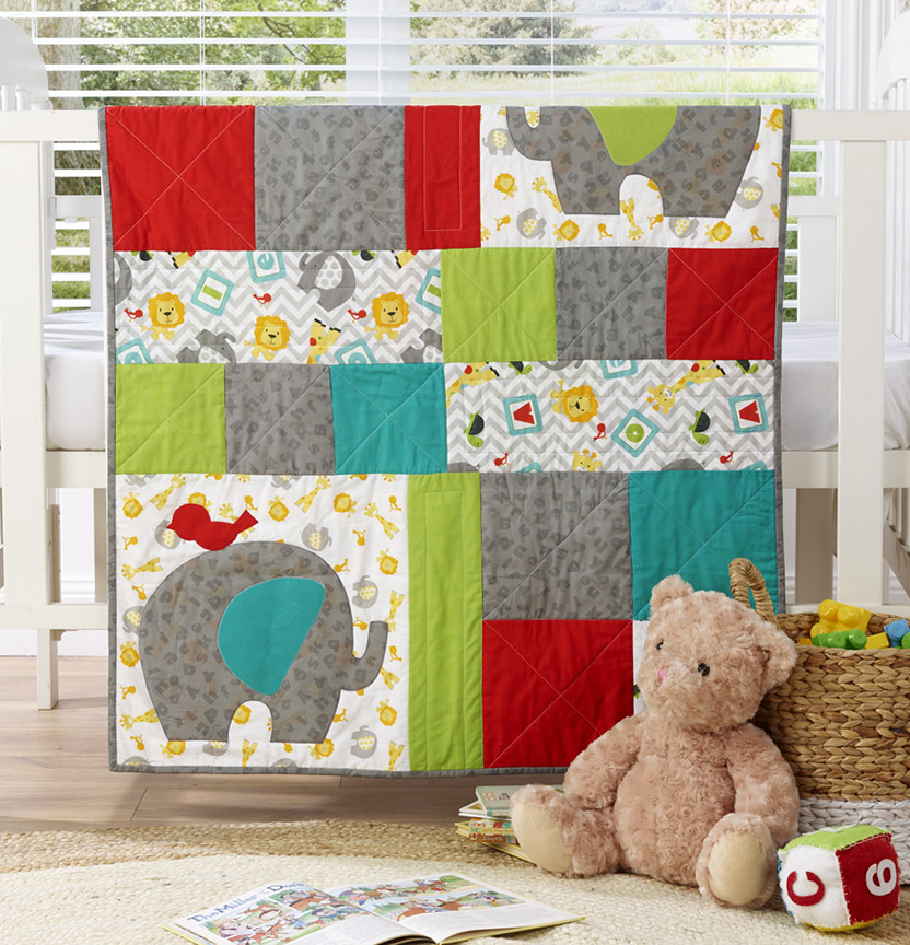 Jungle Cuties Quilt Project