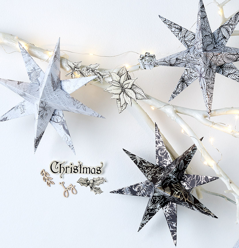 Kaisercraft Christmas Stars Project