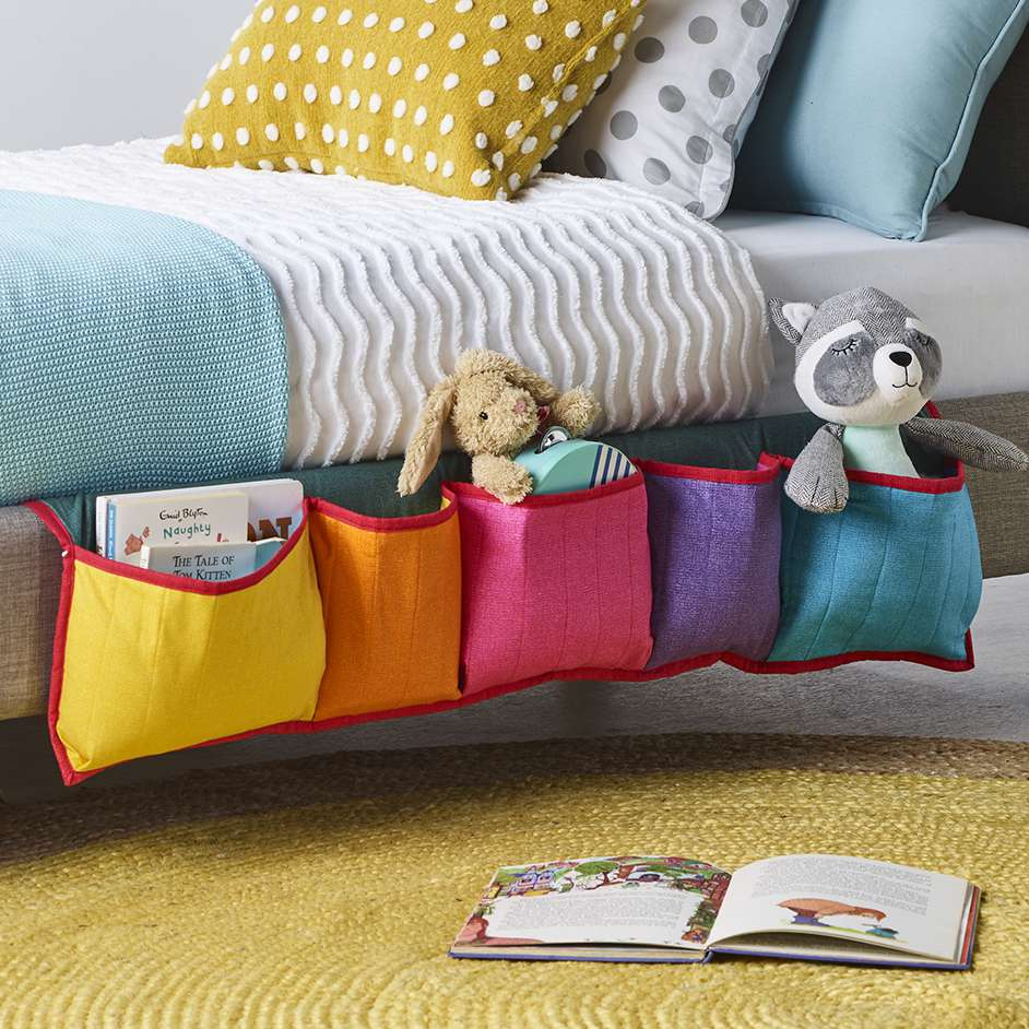 Kids Bed Storage Project