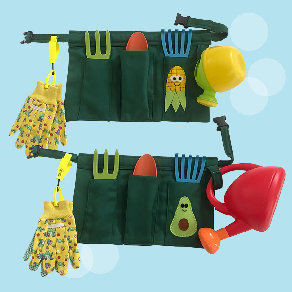 Kids Garden Apron Project