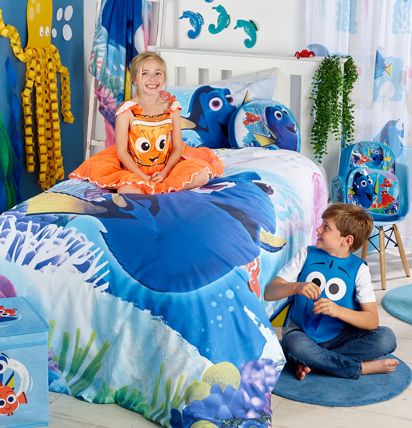 Shop Our Finding Dory Manchester Range