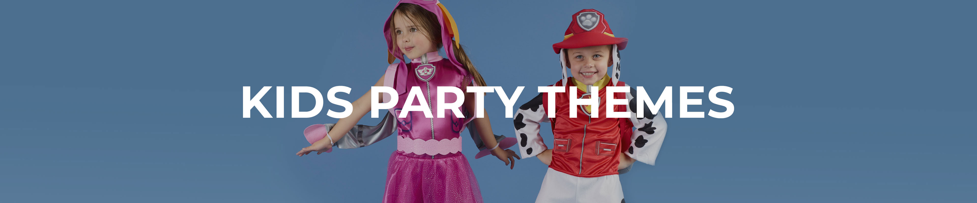 Shop Our Kids Party Themes Range