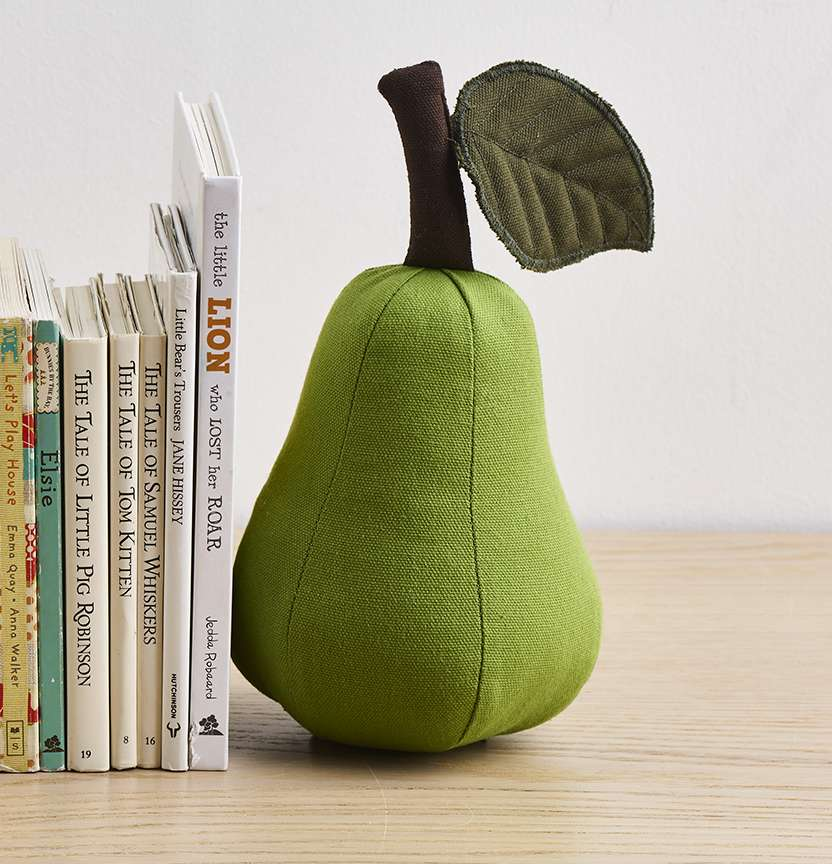 Kids Pear Bookend Project