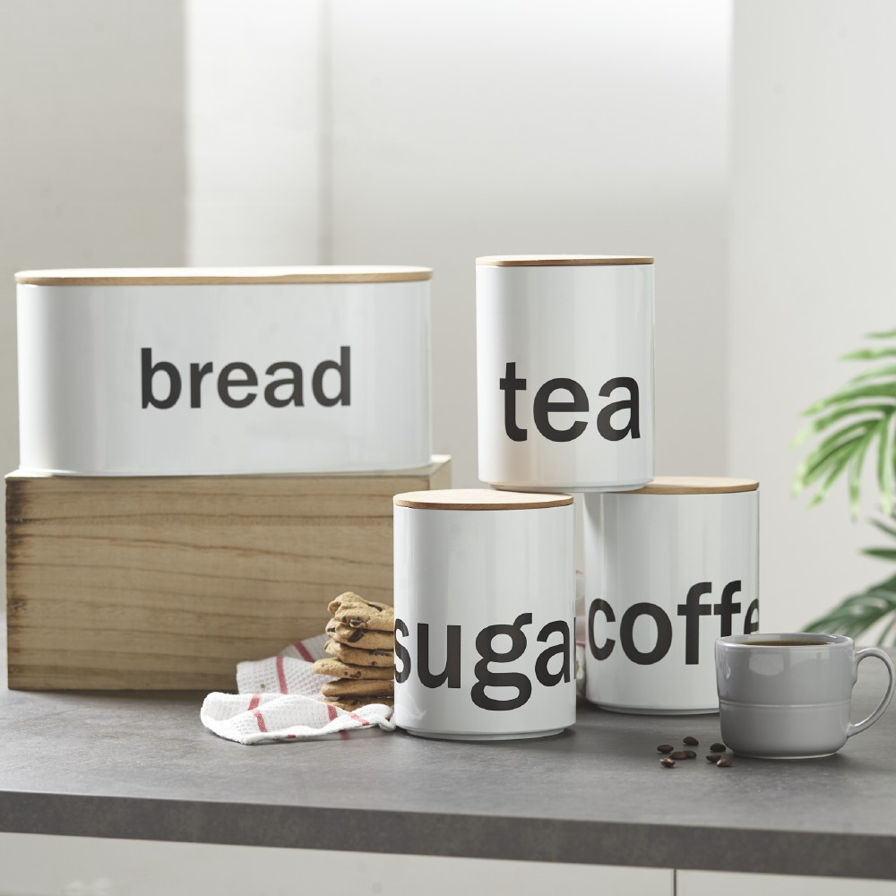 Containers & Jars Are A Great Kitchen Storage Solution