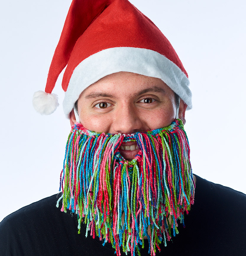 Kringle Sparkle Beard Project