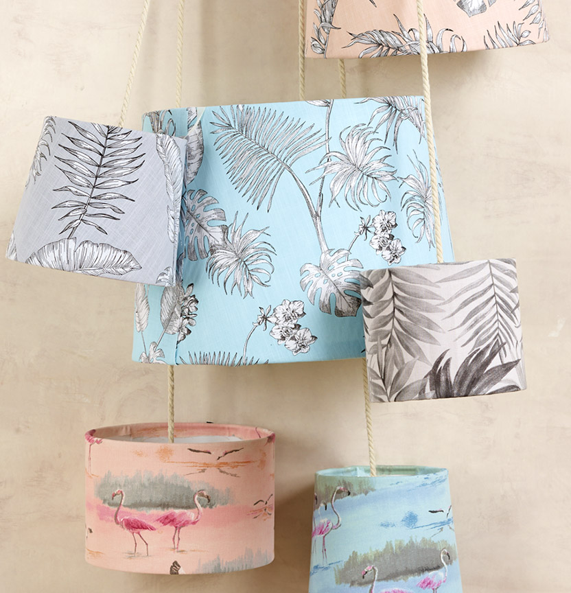 Lampshade Covering Project