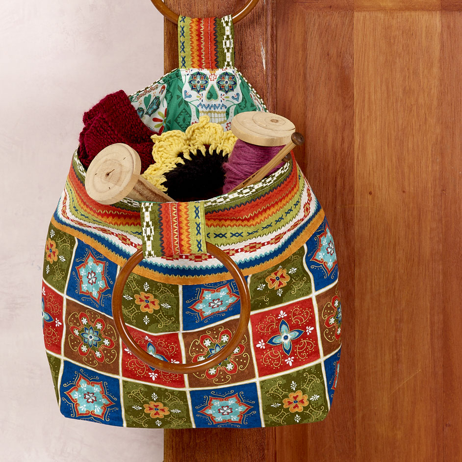 Lavish Fiesta Handbag Project