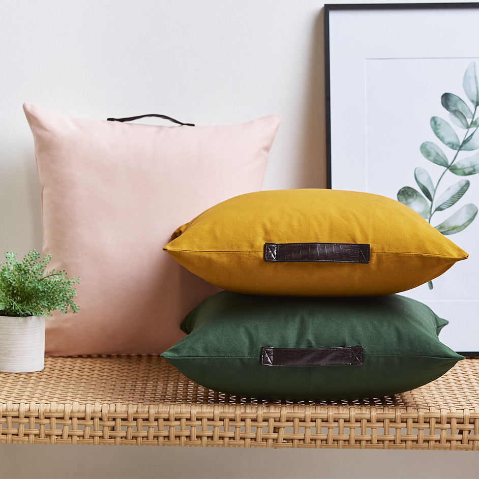 Leatherette Handle Cushion Project