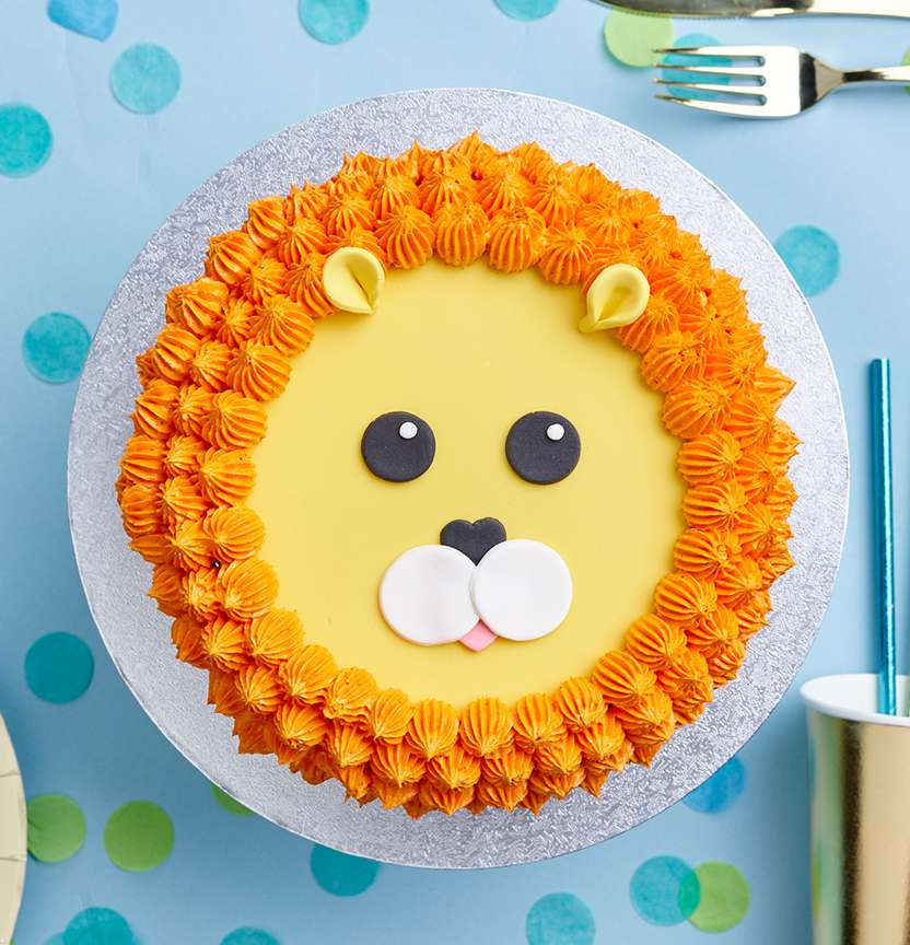 Lion Cake Project