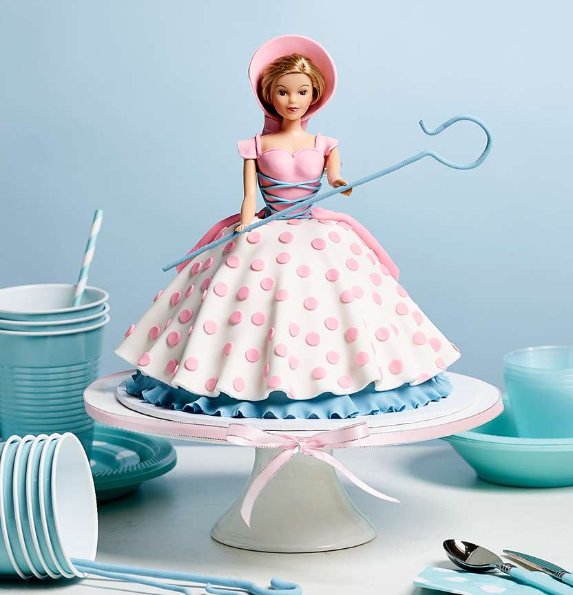 Little Bo Peep Cake Project