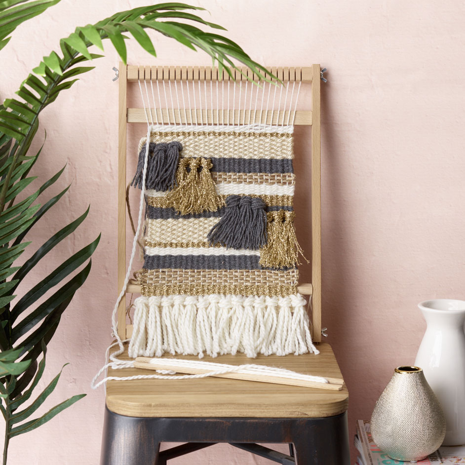 Loom Weaving Project