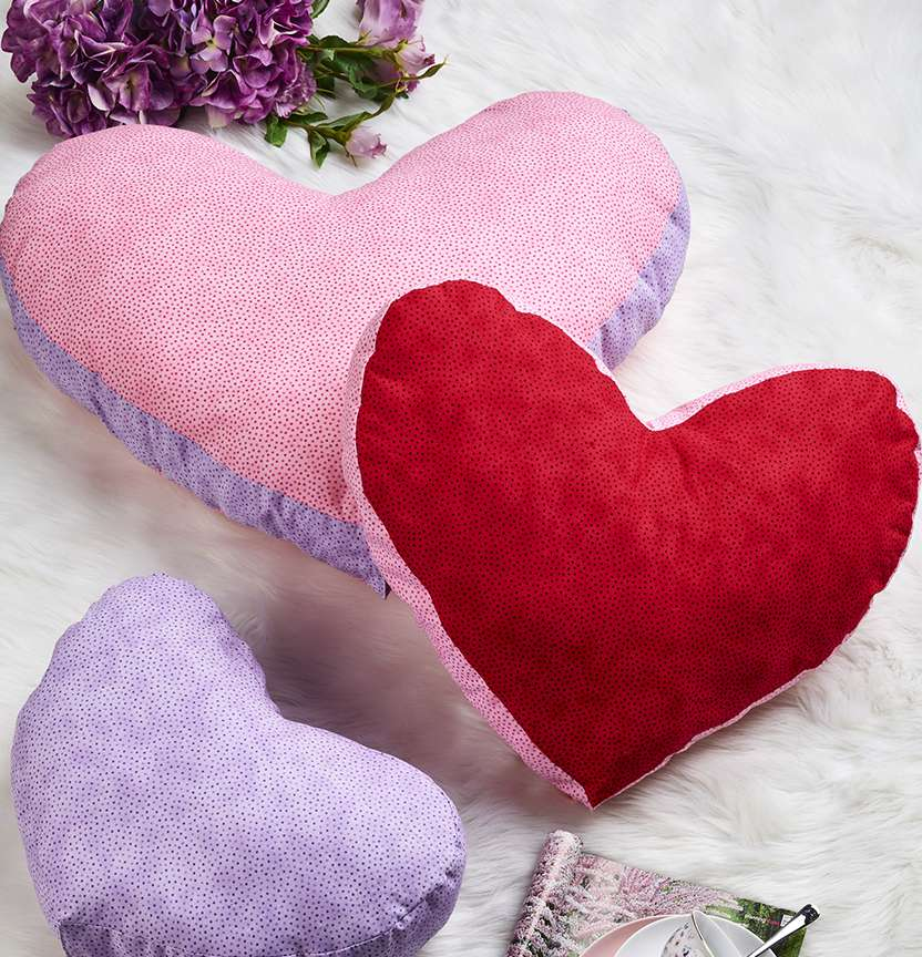 Love Heart Cushions Project