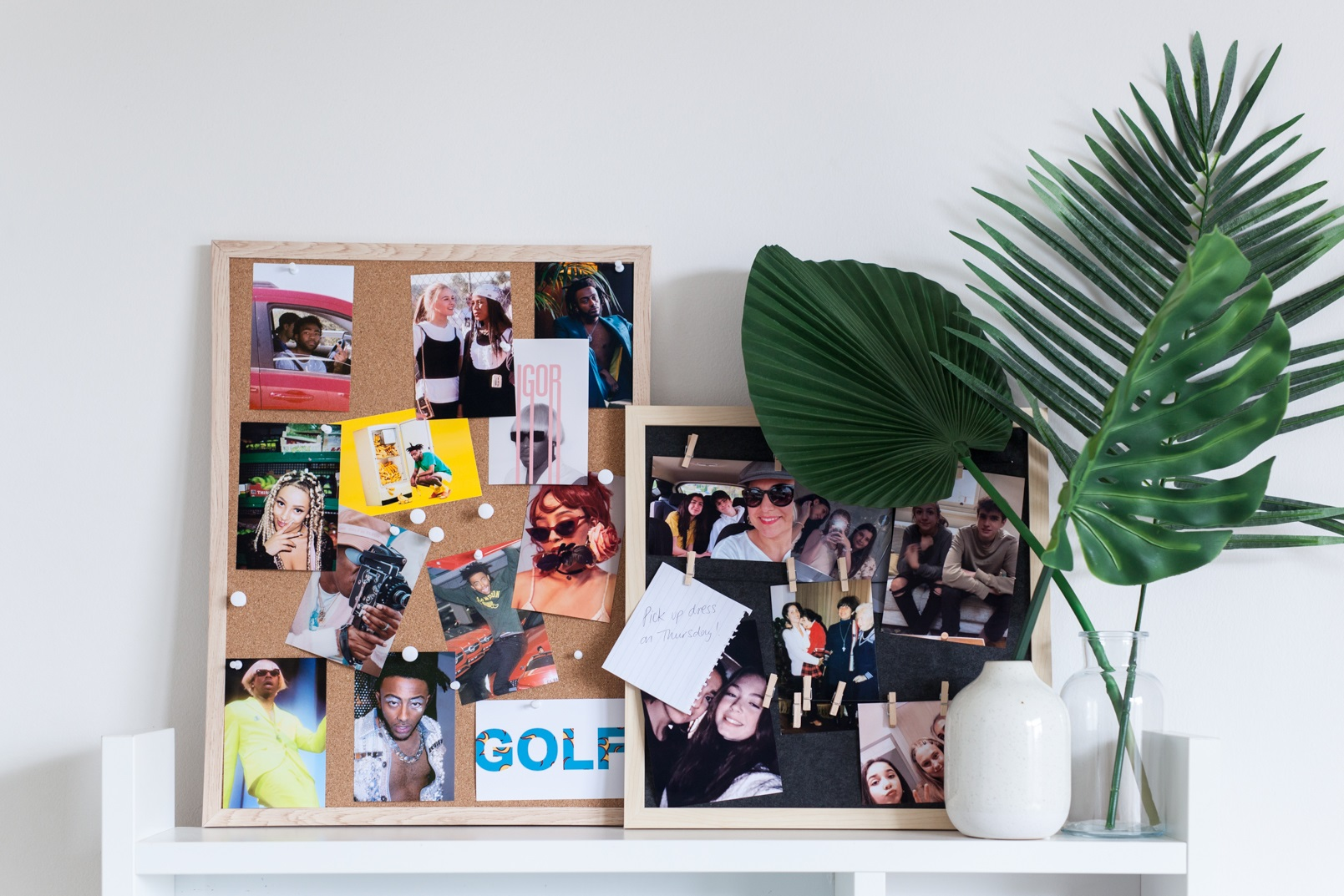 Cork & Felt Boards To Display Pictures