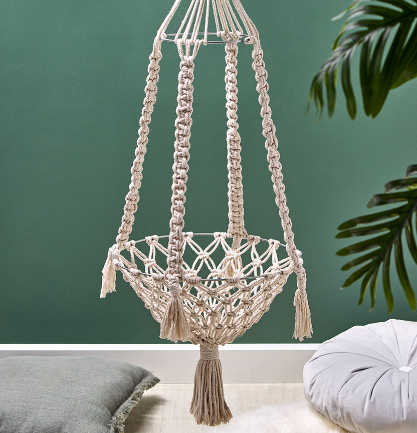 Macrame Cat Hammock Project