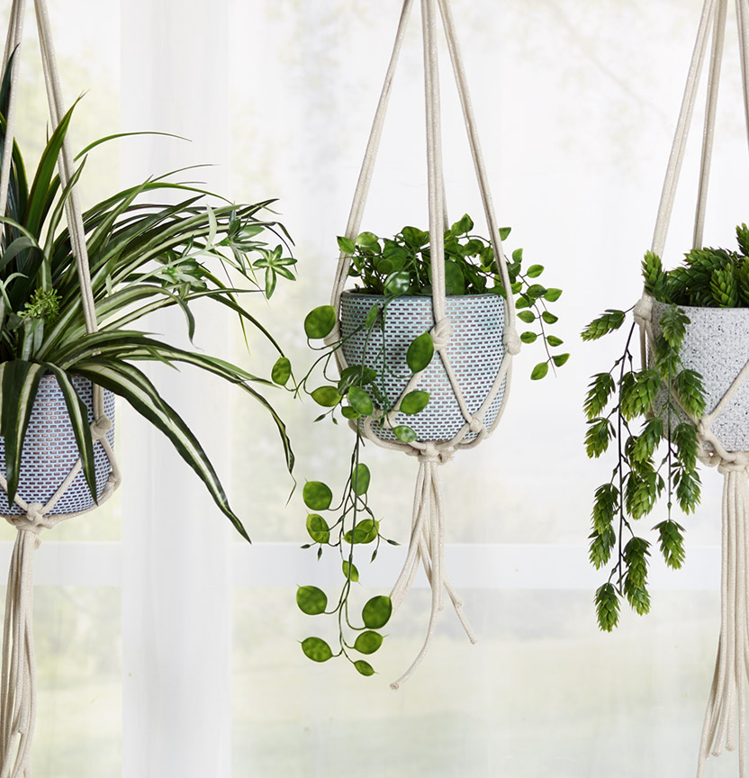 Macrame Hanging Pots Project