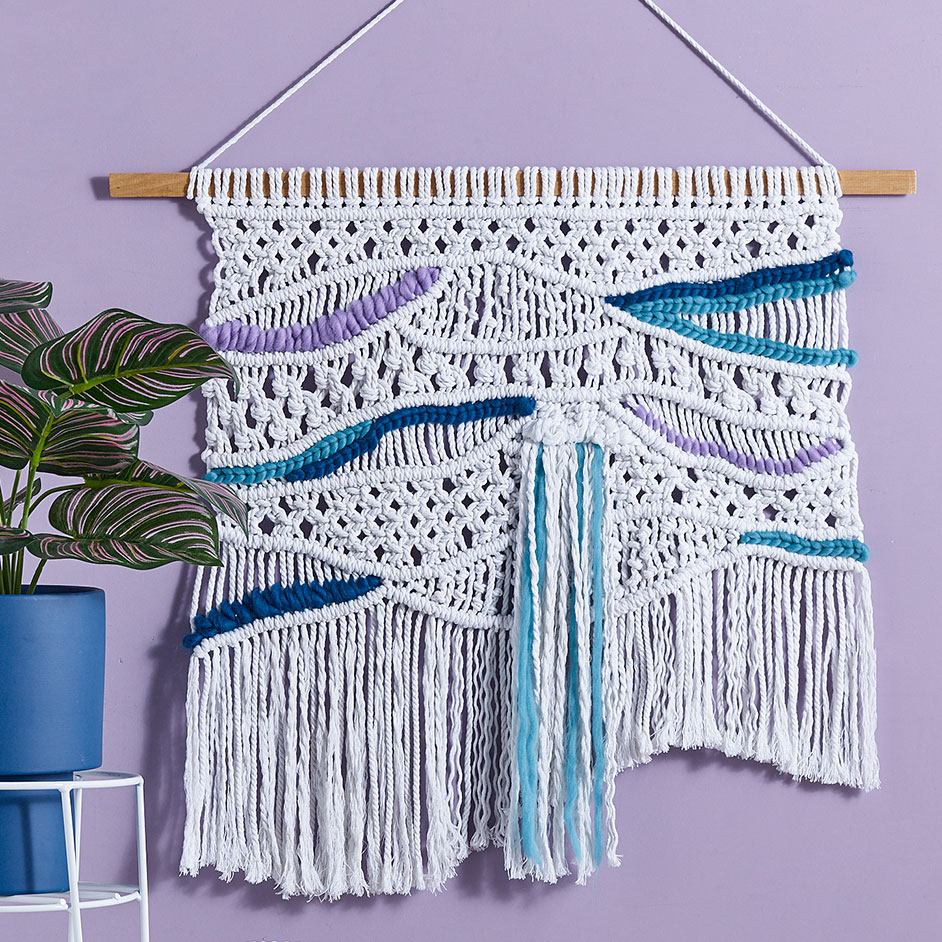 Macrame Wall Hanging 2 Project