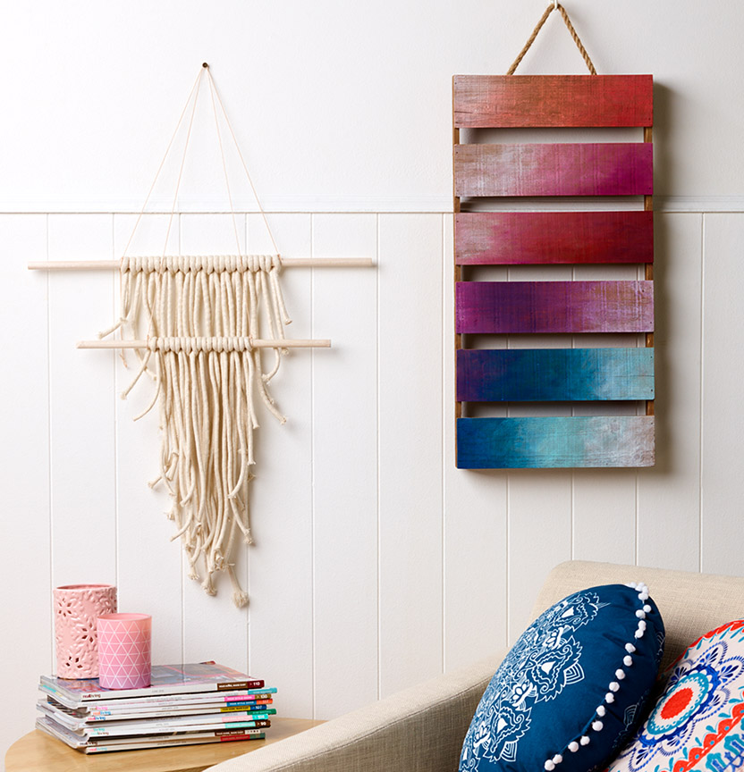 Macrame Wall Hanging Project